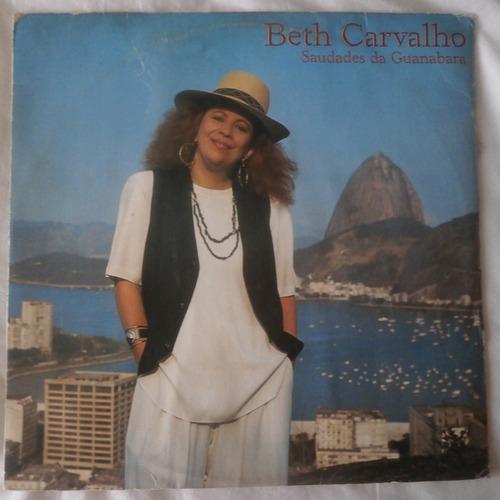 lp beth carvalho 1989 saudades de guanabara, com encarte