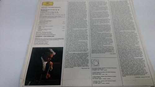 lp bethoven symphone nr6 pastorales - importado seminuevo