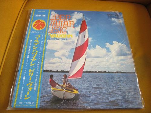 lp billy vaughn golden hawaiian music stereo japao m