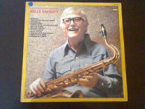lp billy vaughn - grandes sucessos da orquestra billy vaughn