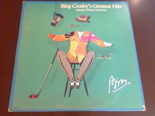 lp bing crosby's greatest hits. 1977. importado, super novo