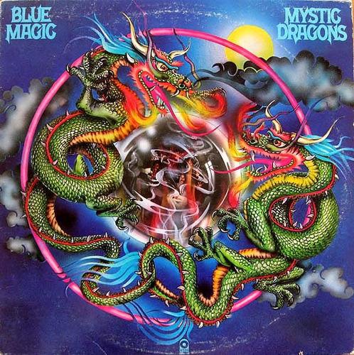 lp - blue magic - mystic dragons - importado
