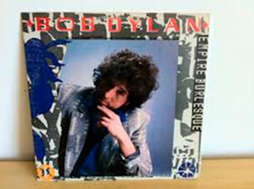 lp bob dylan - empire burlesque capa e vinil zero