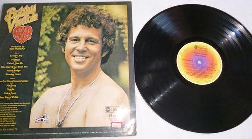 lp bobby vinton - heart of hearts - feelings - 1976