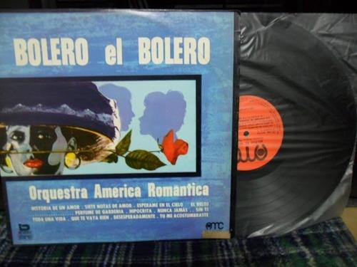 lp bolero el bolero - orquestra america romantica