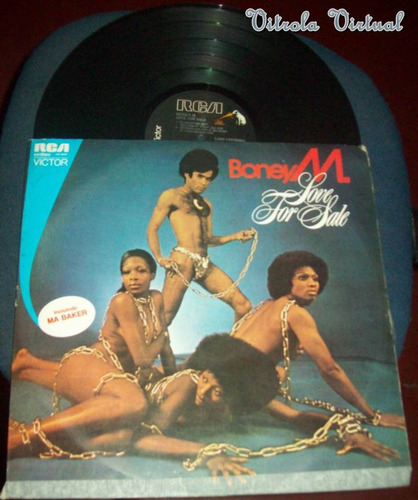 lp boney m. love for sale rca victor 1987