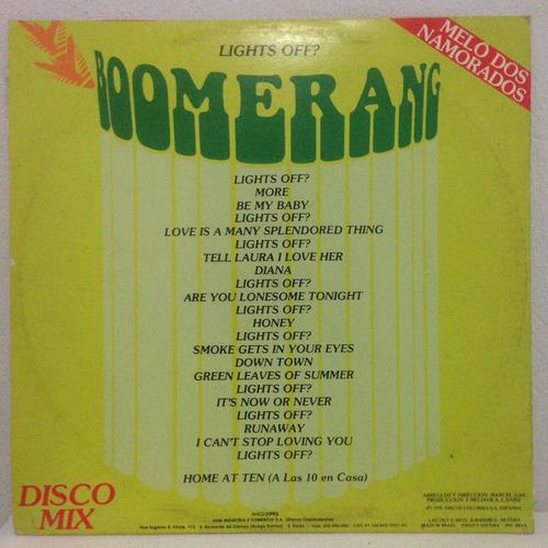 lp boomerang 1979