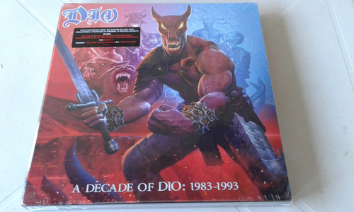 lp box vinil dio a decade of dio 1983-1993 6 lps 180g+bonus7