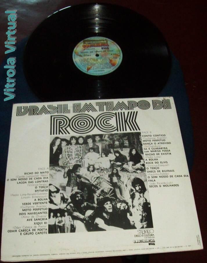 28fd6b6936a Lp Brasil Em Tempo De Rock (a Bolha