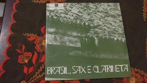 lp brasil, sax e clarinete