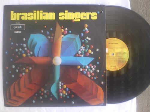 lp - brazilian singers / london / 1974