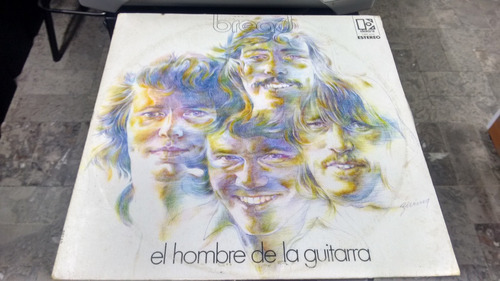 lp bread el hombre de la guitarra formato acetato,long play