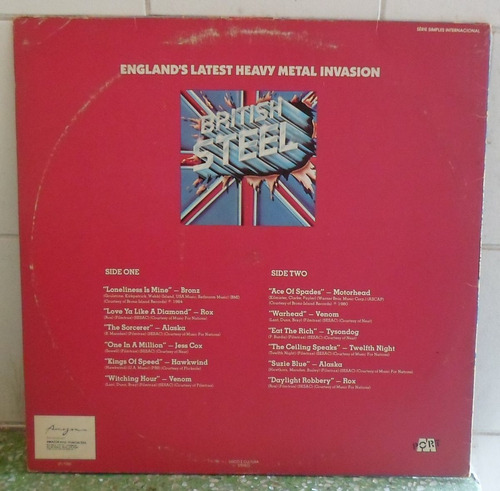 lp british stell - england latest heavy metal invasion