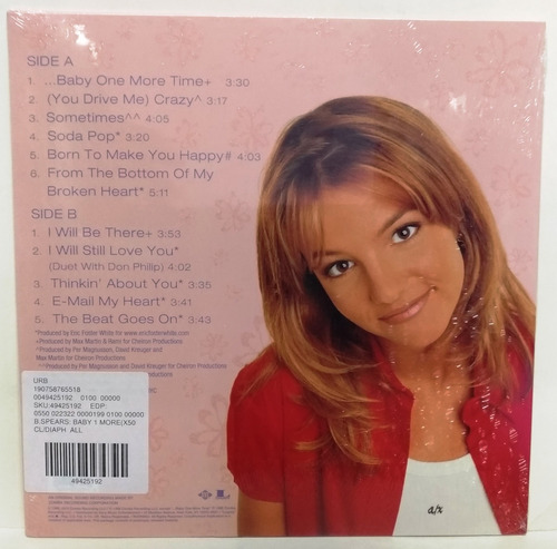 lp britney spears baby one more time pronta entrega .