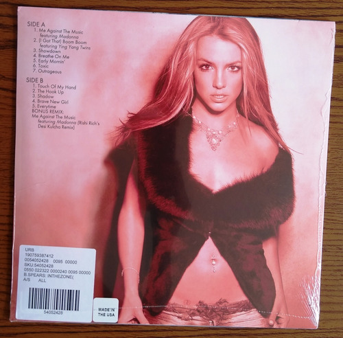 lp britney spears in the zone  lacrado e pronta entrega.