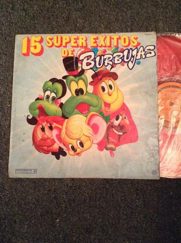 lp burbujas 15 super exitos