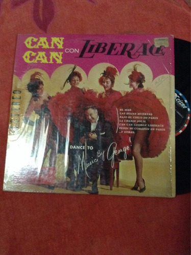 lp can can con jorge liberace