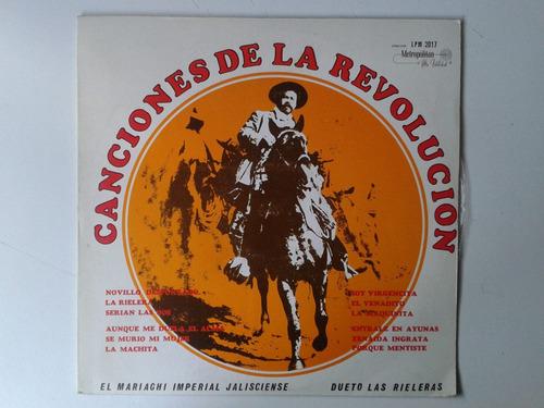 lp canciones de la revolucion pm0