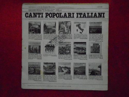 lp canti popolari italiani p/1977