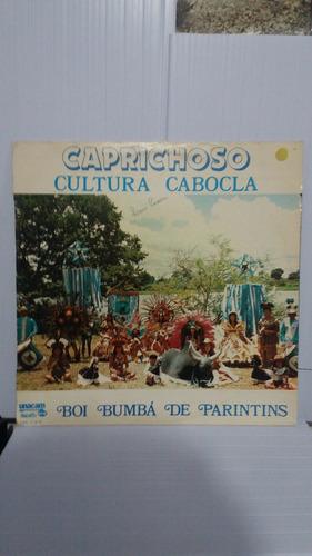 lp caprichoso cultura cabocla boi bumbá de parintins