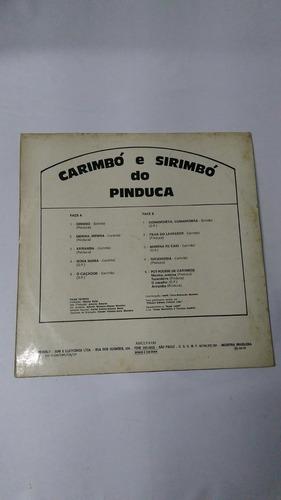 lp carimbó e sirimbó do pinduca amc bervely 1973 invendável