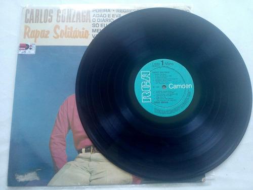 lp - carlos gonzaga - rapaz solitário - 1968 - rca