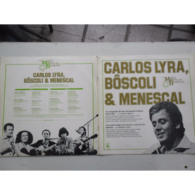 Lp Carlos Lyra, Boscoli Menescal - Musica Popular Brasileira