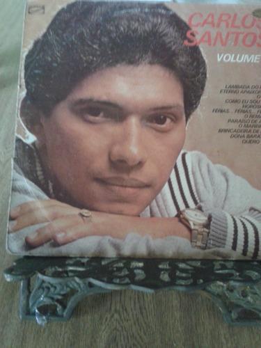 lp - carlos santos - volume 7 - 1982