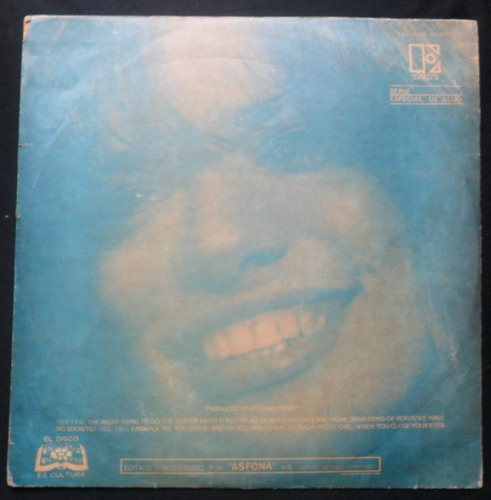 lp carly simon no secrets