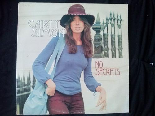 lp carly simon no secrets