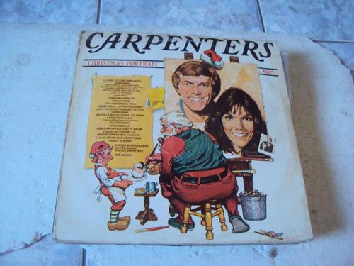lp carpenters, christmas poetrait