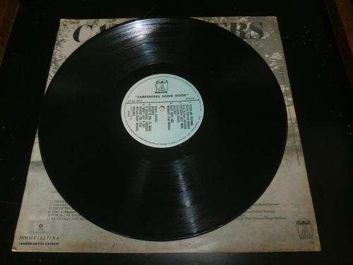 lp carpenters - song book, close to you, disco vinil 1978