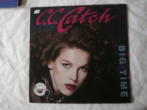 lp c.c. catch big time, vinil eurodisco importado, single