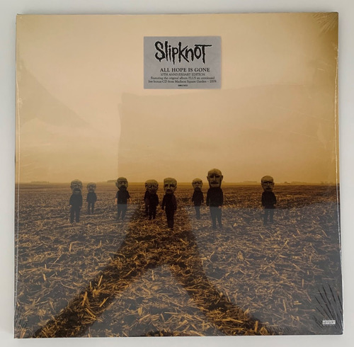 lp + cd slipknot all hope is gone 10th anniversary edition!!
