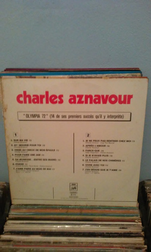 lp charles aznavour olympia 72 1973