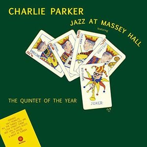 lp charlie parker jazz at massey hall