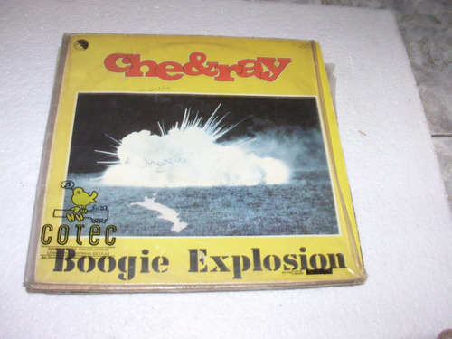 lp che ray - boogie explosion - 1977 - importado.