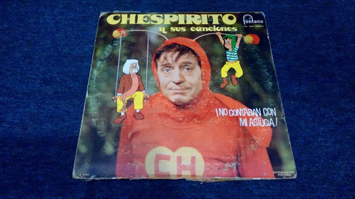 lp chespirito y sus canciones en acetato,long play