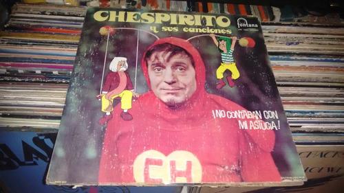 lp chespirito y sus canciones,acetato,long play