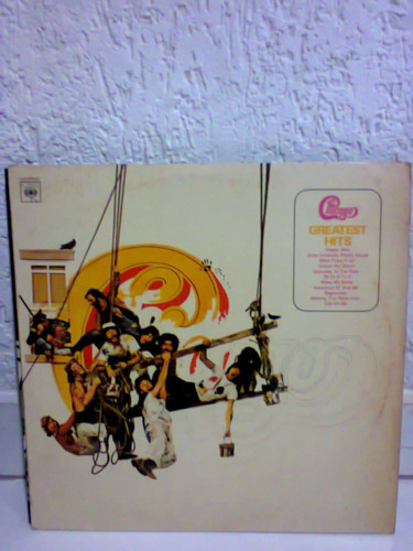 lp chicago greatest hits 1976