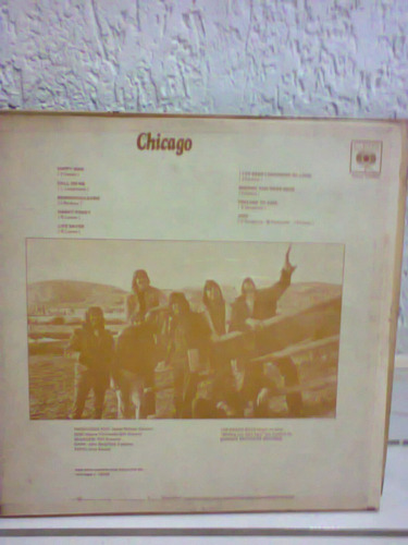 lp chicago happy man 1974 capa dura
