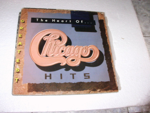 lp chicago - the heart of...chicago - 1990