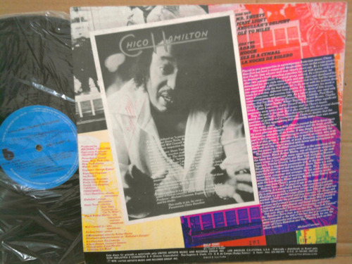 lp chico hamilton and the players 1976 - funk-soul / jazz