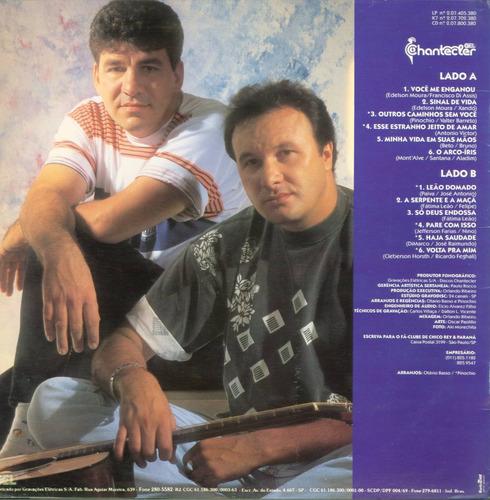 lp chico rey e parana vol 08 - chantecler -1993 com encarte