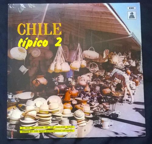 lp chile típico volumen 2 violeta parra y héctor pavez
