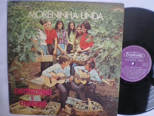 lp - chitãozinho e chororó / moreninha linda /tropicana 1971