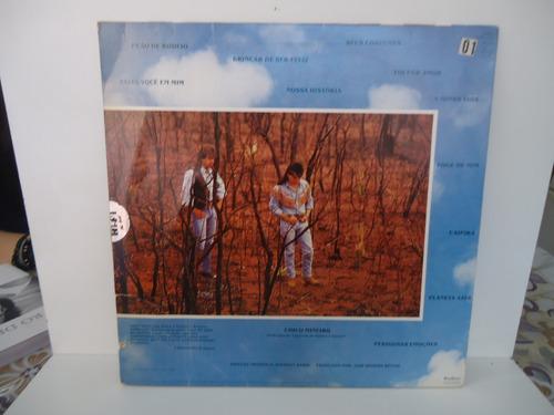 lp chitãozinho e xororó planeta azul selo philips 1991
