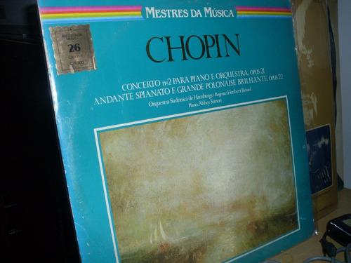 lp   chopin   - mestres  da  música  -  ref   29