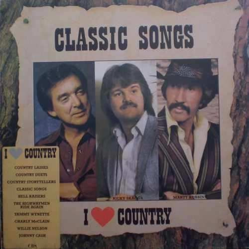 lp classic songs i love country(rarissimo)