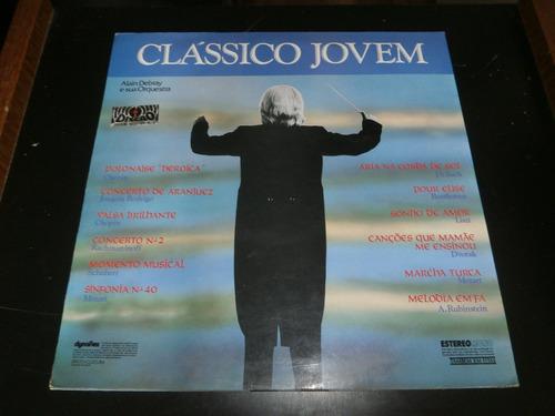 lp clássico jovem, alain debray e orquestra, vinil de 1976